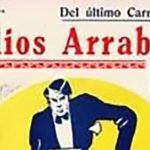 """""""Adios arrabal"""", tapa de la partitura musical del tango."""