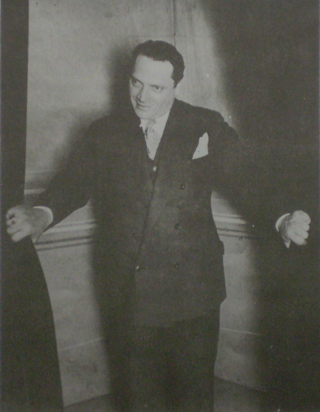 Alberto Vaccarezza, autor de grandes Tangos.