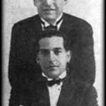 Alejandro Scarpino y Juan Caldarella, músicos y compositores de nuestro Tango.