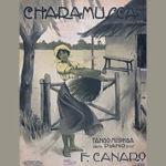 """""""Charamusca"""", tapa de la partitura musical del tango."""