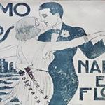 """""""Como los nardos en flor"""", tapa de la partitura musical del tango."""