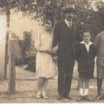 Agustín Bardi con su familia   Historia del Tango