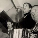 Donato Racciatti y Nina Miranda, director de orquesta y su cantante de tangos.