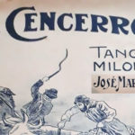 """El Cencerro"", tapa de la partitura musical del Tango."