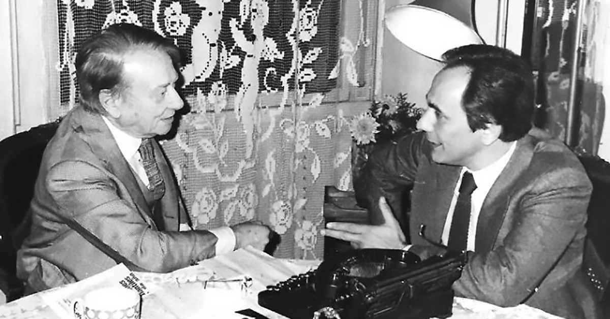 Enrique Cadícamo, letrista y compositor de nuestro Tango.