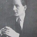 """Héctor Pedro Blomberg, autor de la letra de """"Rosa Morena""""."""