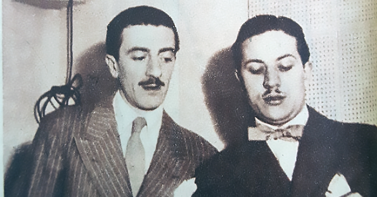 Jorge Ortiz y Rodolfo Biagi, creadores de nuestro Tango.