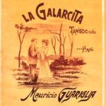 La Galarcita, tapa de la partitura musical del tango.