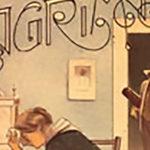 """""""Lagrimas"""", tapa de la partitura musical del tango de Eduardo Arolas."""