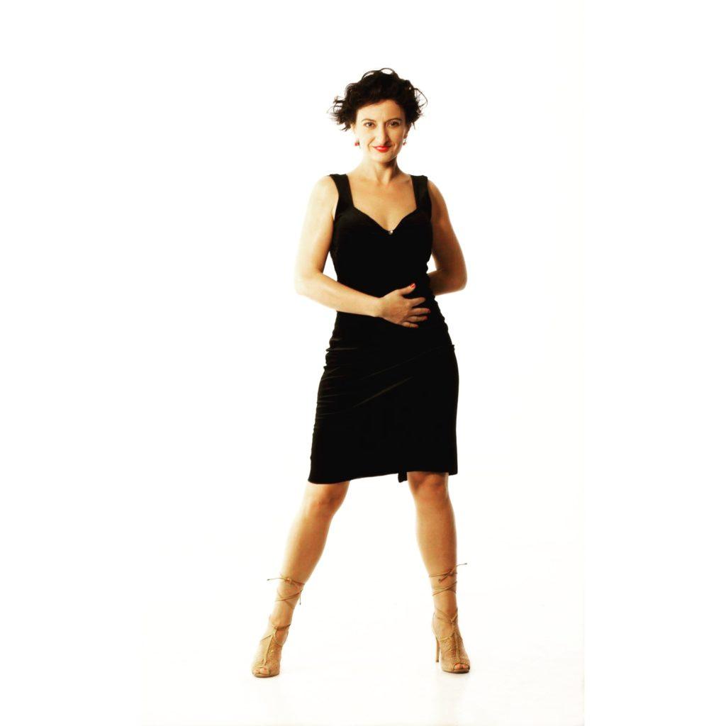 Maria Olivera. Clases en la Escuela de Tango de Buenos Aires.