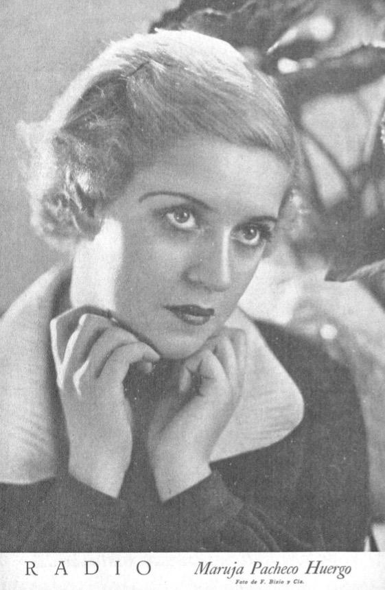 Maruja Pacheco Huergo, letrista y compositora ne nuestro Tango.