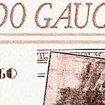 """Nido gaucho"", tapa de la partitura musical del tango."