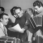 Osvaldo Ruggiero con Pugliese y su orquesta. Tango.