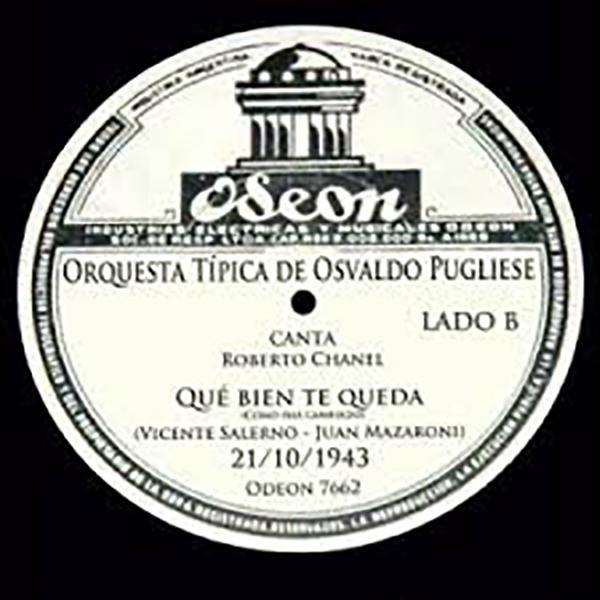 """Disco vinilo de """"Qué bien te queda (Cómo has cambiado)"""""""