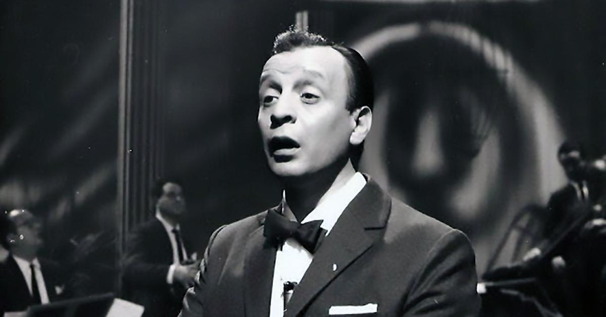 Roberto Rufino, cantor y compositor de tangos.