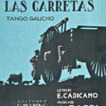 """""""Se han sentado las carretas"""" by Francisco Lomuto y su Orquesta Típica with Fernando Díaz and Jorge Omar in vocals, 1939. Música Agustín Bardi. Letra Enrique Cadícamo."""