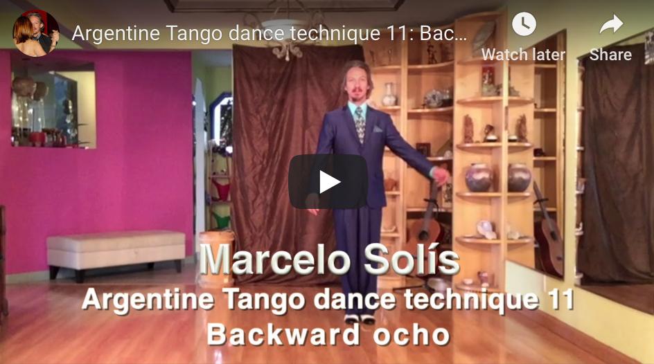 Argentine Tango Technique 11 with Marcelo Solis