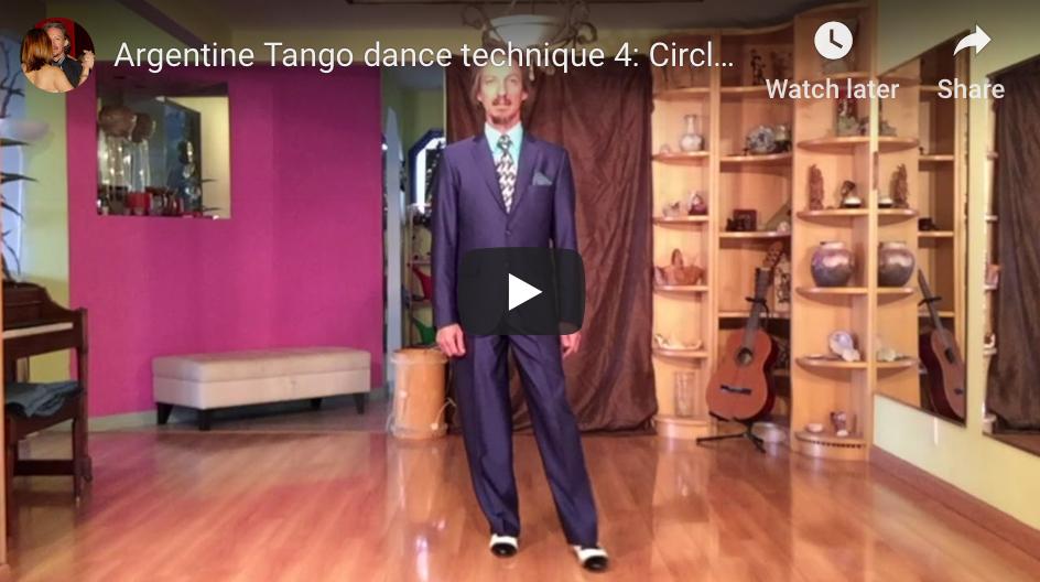 Argentine Tango technique 4. Video classes with Marcelo Solis at Escuela de Tango de Buenos Aires.