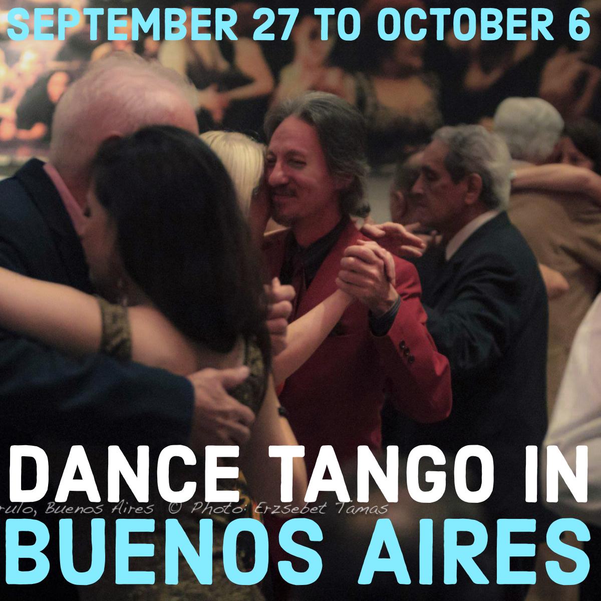 Dance Tango in Buenos Aires with Marcelo Solis at Escuela de Tango de Buenos Aires