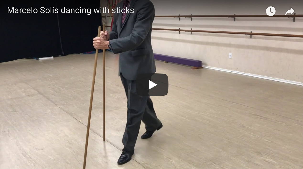 Argentine Tango dance with sticks by Marcelo Solis.