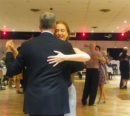Milonga in Lafayette with Marcelo Solis at Escuela de Tango de Buenos Aires.