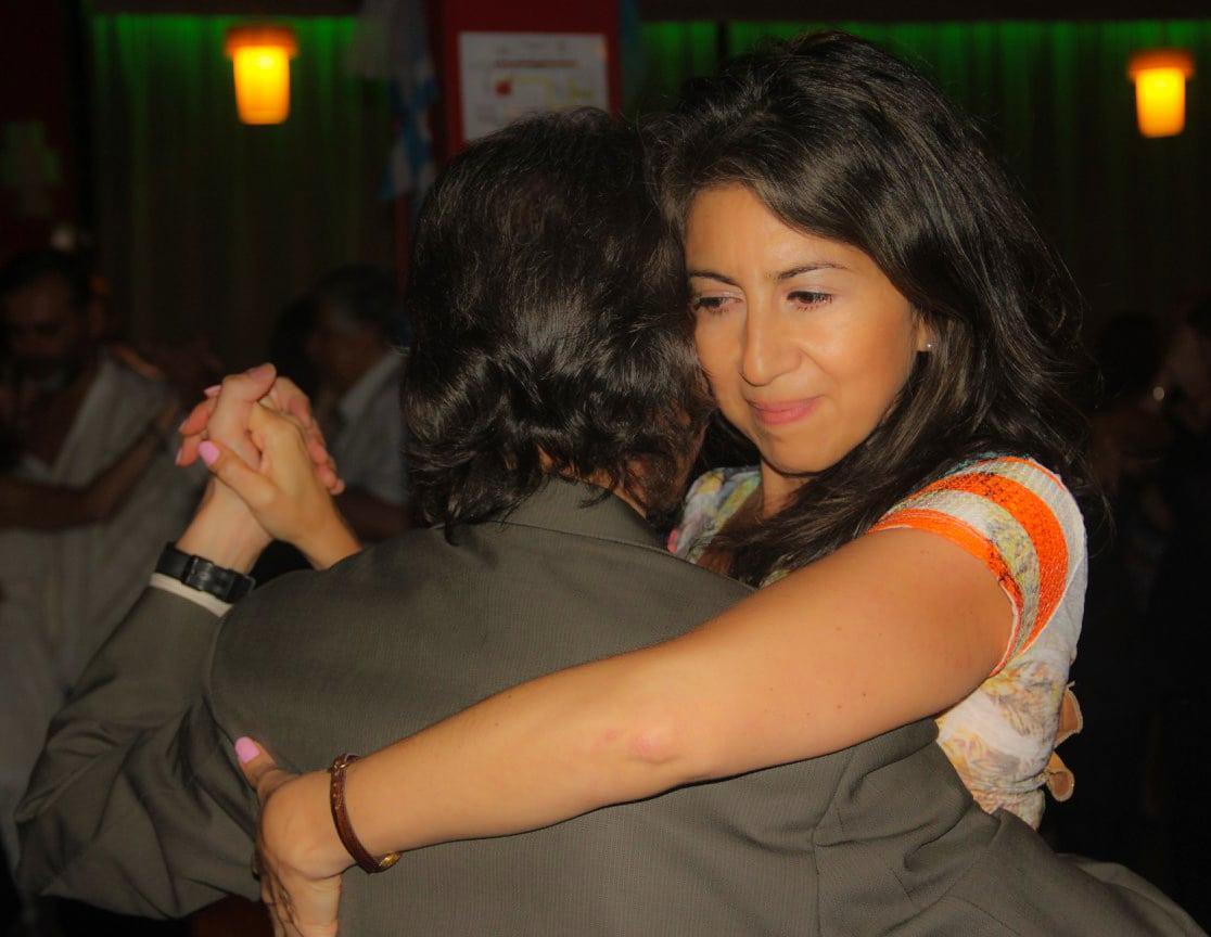 Marcelo Solis Bailando con Monica Paz