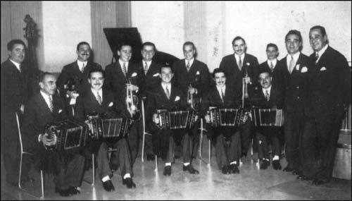 Ricardo Tanturi. Argentine Tango music at Escuela de Tango de Buenos Aires